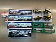 Group Of Hess And Tonka Truck Toys