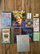 Signed Autographed Lot Of 5 Terence Mckenna Ephemeral Esoteric Occult 1st Hc Dj