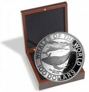Silver Coins Bahamas Wale Whales Of The World Buckelwale 2.2lbs 1995 Proof
