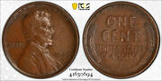 1909 S Vdb 1c Lincoln Wheat Cent Pcgs Au 50 About Uncirculated Cac Approved K...