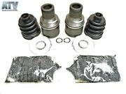 Pair Of Rear Inner Cv Joints Kits For Yamaha 2007-2011 Grizzly 350 Irs 4x4