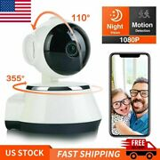 1080p Wifi Security Camera Night Vision Hd Wireless Indoor Home Baby Pet Monitor