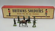 Vintage Britains Set 1893 Royal Indian Army Service Corps Lead Toy Soldiers