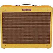 Fender And03957 Custom Deluxe 12w 1x12 Tube Guitar Amp Lacquered Tweed Ln