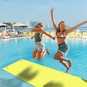 3 Layers Water Mat Floating Water Pad 18 Ft Water Sports Recreation Relaxing Us