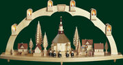 Candle Arches Seiffener Church Electric Illuminated Arch Erzgebirge 01004