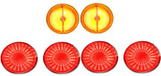 Digi-tails Sequential Led Tail Panel And Rs Marker Light Set 1970-73 Chevy Camaro