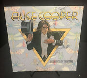 Alice Cooper Welcome To My Nightmare Vinyl Record Lp Sd-18130 Vg+/vg