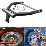 Right Side Drive Rsd Fat Wide Tire Swingarm For 280 300 Tire Evo Harley Softail