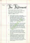 The Yardbirds Original 1964 Contract Signed By Giorgio Gomelsky And Band Members