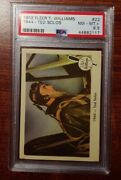 1959 Fleer Ted Williams 22 1944 - Ted Solos Psa 8.5 Nm-mt+