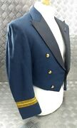 Genuine Vintage Raf Issue Officers Squadron Leaders Mess Dress Jacket R.e City