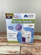 Mabis Personal Steam Inhaler Vaporizer With Aromatherapy Diffuser New