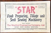 Star Food Preparing Tillage And Seed Sowing Machinery - Descriptive Booklet