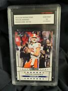 Trevor Lawrence 2021 Leaf Draft Football Rookie Stars St-02 1st Graded Gm 10