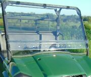 Kawasaki Mule Pro Mx Mar‐resistant Windshield With Quick Clamps And Dual Vents