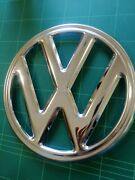 Front Badge For Vw Baywindow Type 2 Volkswagen Early Bay Stainless Steel Badge