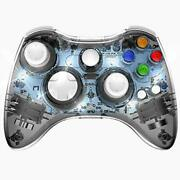 Pawhits Wireless Controller Compatible With Xbox 360 Double Motor Vibration W...