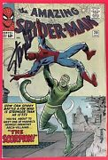 The Amazing Spiderman 20 First Appearance Of Scorpion Signed By Stan Lee