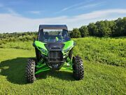 Kawasaki Teryx Krx 1000 Scratch-resistant Windshield With Quick Clamps And Vents