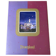 Disneyland Press Preview Kit 50th Anniversary 2005 Lenticular Cover