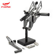 For Yamaha Yzf R1 2015-2018 Cnc Motorcycle Rearset Foot Pegs Footrest Pedal Us