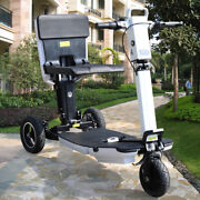 48v Folding Electric Mobility Scooter 3 Wheels Motorized Scooter Riding 3 Speeds
