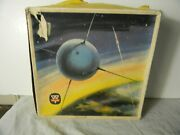 1950's Arnold Remote Control Space Satellite Tin Germany With Box