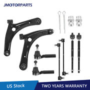 8pcs Front Lower Control Arm Sway Bar Ball Joints For 07-17 Jeep Patriot Compass