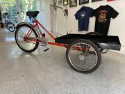 Worksman Front Loader Delivery Trike Cycle