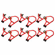 Biketek Series 3 Front Track Paddock Stand Red - Pack Of 6