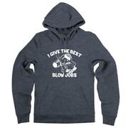 I Give The Best Blow Jobs Hoodie Hairstylist Stylist Barber Hair