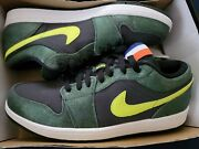 Brand New With Box Air Jordan 1 Low Retro New York Nyc Size 12 Rare Sold Out