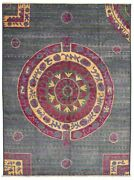 Hand-knotted 10'2 X 13'9 Shalimar Casual, Transitional Wool Rug