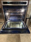 Wolf So30f/s Dual Fan Convection Wall Oven - Stainless Steel