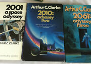 2001 A Space Odyssey Trilogy By Arthur C. Clarke Plus H.g. Wells Collection