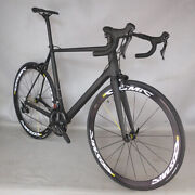 New Complete Bike Road Internal Cable Carbon Frame Bicycle R7000 Groupset Fm066
