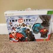 Disney Infinity 1.0 Xbox 360 Starter Pack W/ Sully, Jack Sparrow, Mr Incredible