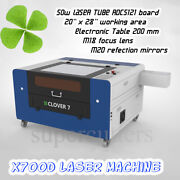80w Co2 Motorized Table Laser Cutting Engraving Machine 500 X 700 Mm 20andldquo X 28andrdquo