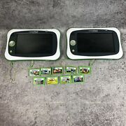 Lot Of 2 Leap Frog Leap Pad Ultimate Learning Consoles And 10 Games