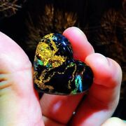 Natural Blue And Yellow Piesitesite Namibian Gemstone Carving Ornaments Aaaaa
