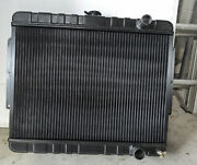 Dewitts 1239015m 1959-64 Chevy Direct Fit Aluminum Radiator Chevy Original Style