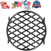Bbq Sear Grate 12 Enamel Cast Iron Round Grid For 22.5 Weber Charcoal Grill
