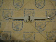 1968-71 Oem / Nos Honda Z50 Silver Tag White Plastic Levers Selling The Pair.