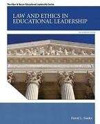 Law And Ethics In Educational Leadership, David Stader, Paperback