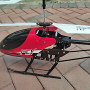 Big Remote Control Helicopter Gyro 3.5ch Rc Drone Toy Flying Plane Super Large