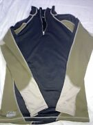 Cabelas Thermal Zone Base Layer Mens 1/4 Zip Long Sleeve Pullover E.c.w.c.s