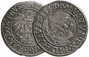 Grossus 1540 Prussia. Medieval Silver Coin 13004