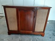 1961 Admiral Stereo Console Record Player/changer/radio Restored