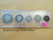 1892 Silver Birth Year Set 5 Coins Other Years Also